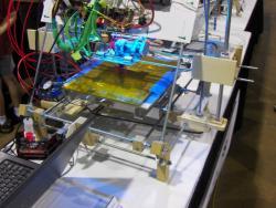 Plastic Making Bot at iHobby Expo 2011