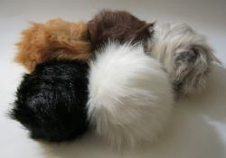 Stage Props Tribbles Set of Three 3 Assorted Colors