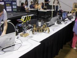 Robots at iHobby Expo 2011