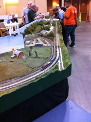 Train Layout iHobby Expo 2013 Pictures