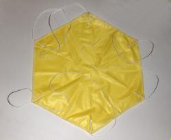 Yellow Thin Mill Parachute
