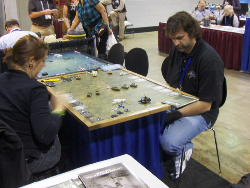 Axis and Allies at iHobby Expo 2011