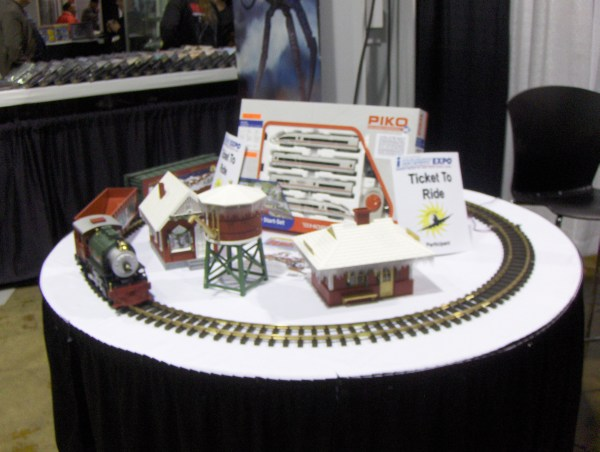 G Scale Choo Choo Train at iHobby Expo 2011