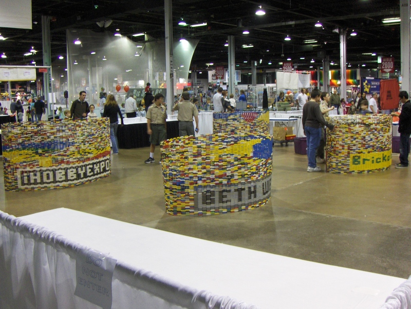Lego Building at iHobby Expo