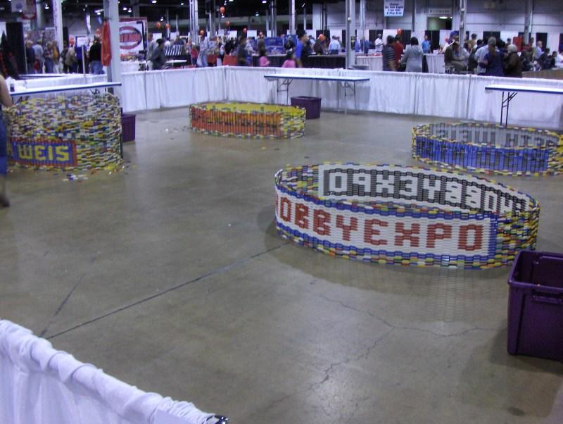 Lego Display at iHobby Expo 2011
