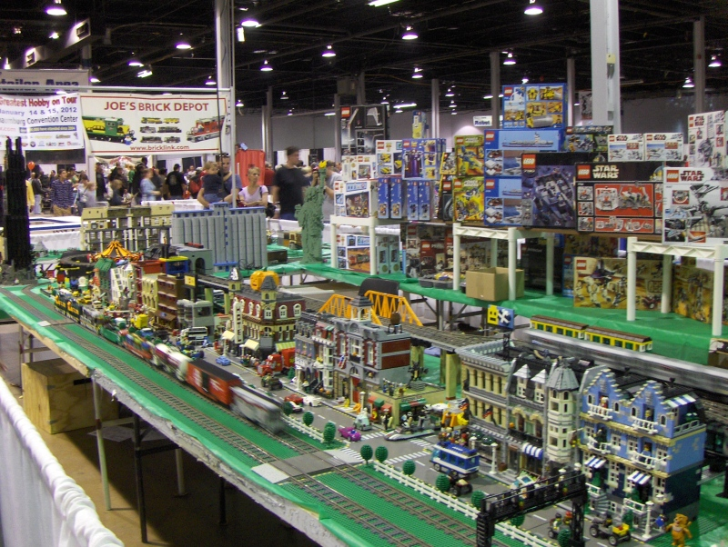 Lego Train 2 at iHobby Expo