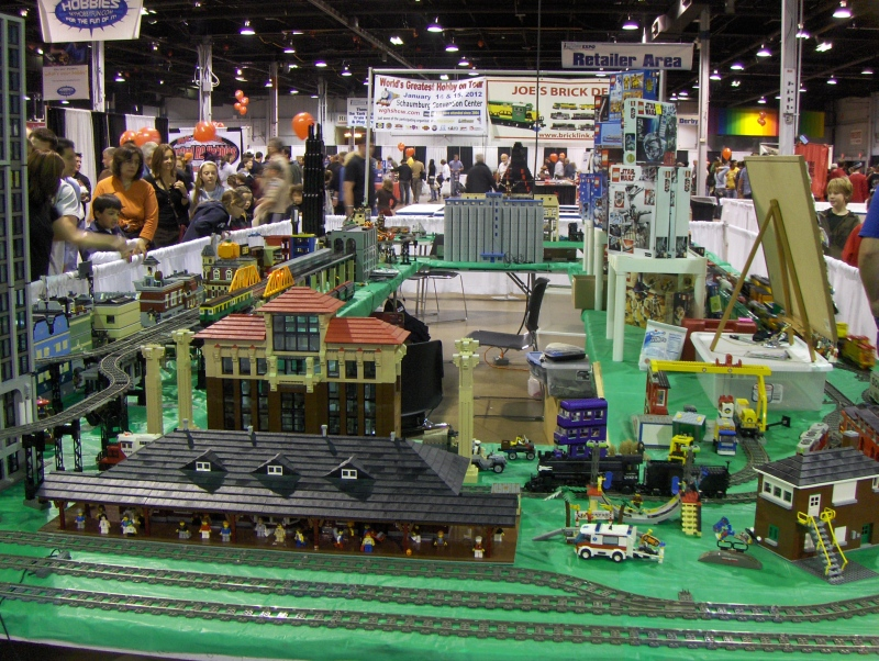 Lego Train at iHobby Expo
