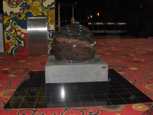 iHobby Expo 2012 Big Floating marble Ball
