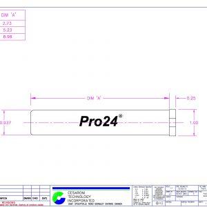 CTI Pro24 Hardware Casing dimensions