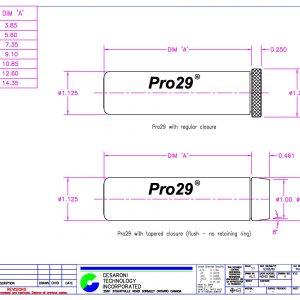 CTI Pro29 Hardware Casing dimensions