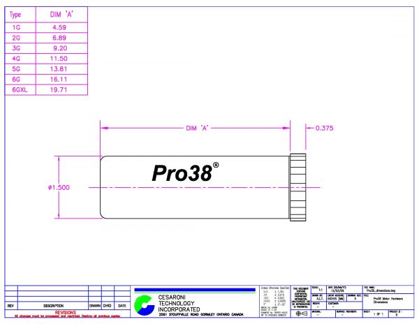 CTI Pro38 Hardware Casing