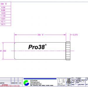 Pro38 Dimensions