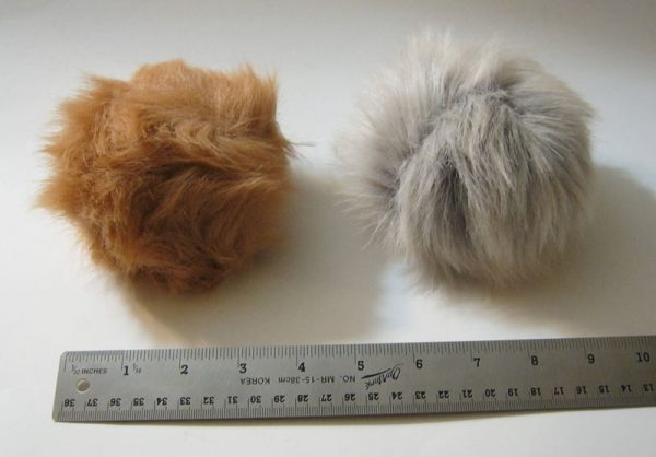 Stage Props Tribbles Size