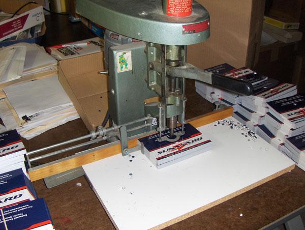 Header Paper Drilling