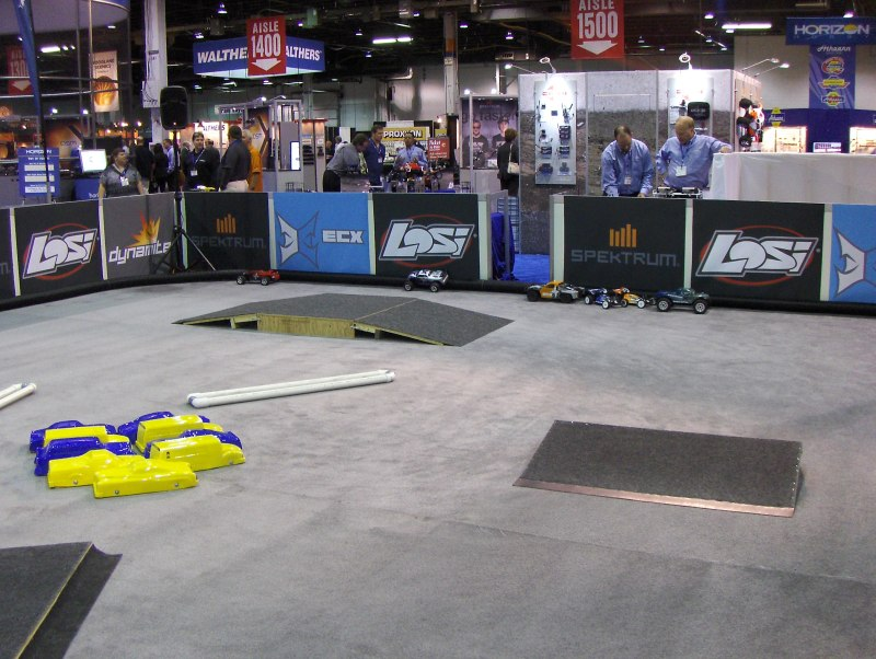 RC Car Track at iHobby Expo