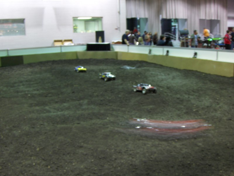 RC Truck Track at iHobby Expo