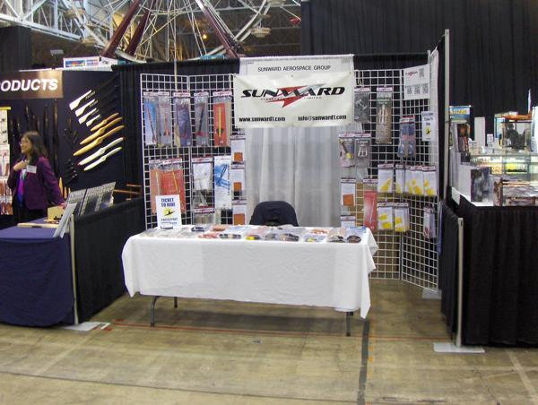 iHobby Expo 2012 Sunward Booth