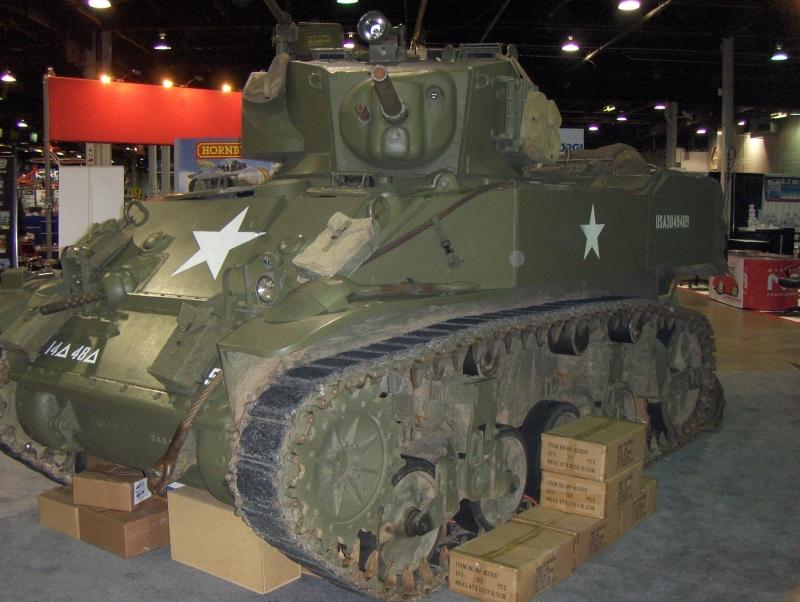 tank at iHobby Expo