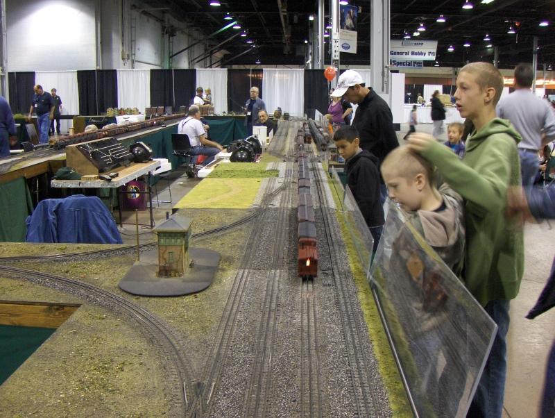 Train Layout 9 at iHobby Expo