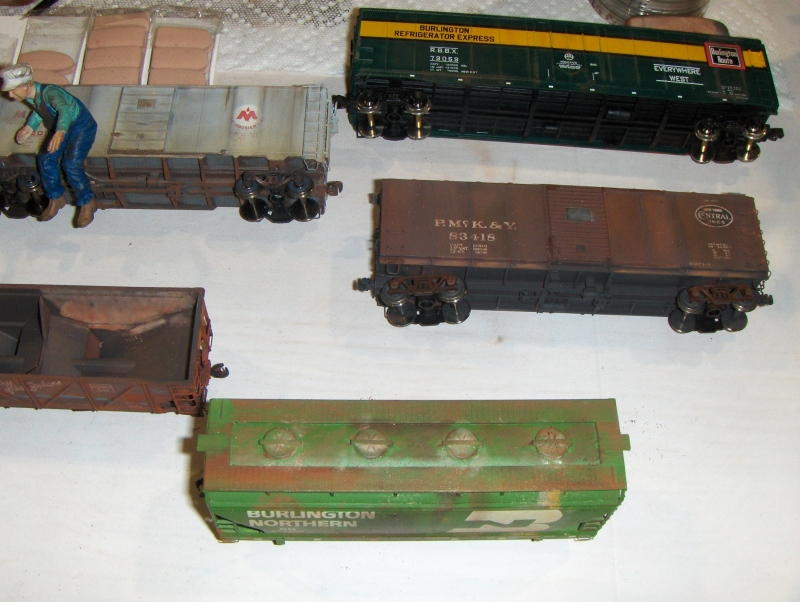 Train Weathering 2 at iHobby Expo