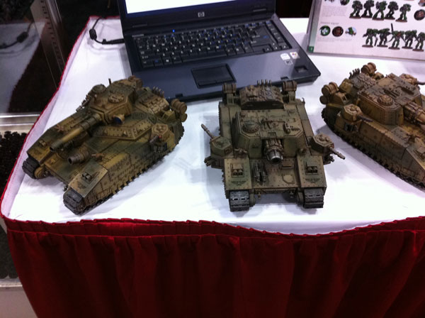 Warhammer Assault Vehicles iHobby Expo 2013 Pictures